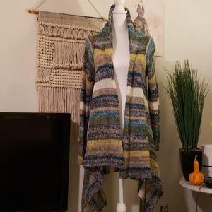 Wet seal long Cardigan Sweater XL